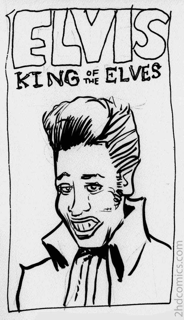 Elvis King of the Elves