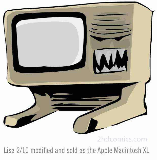 Apple Lisa 2 Macintosh XL Computer