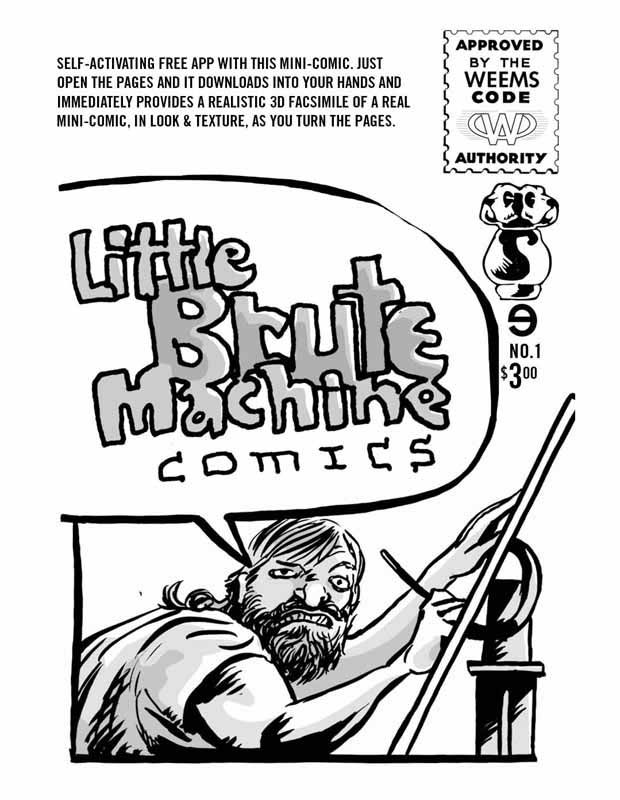 Little Brute Machine Comics 1 Cover