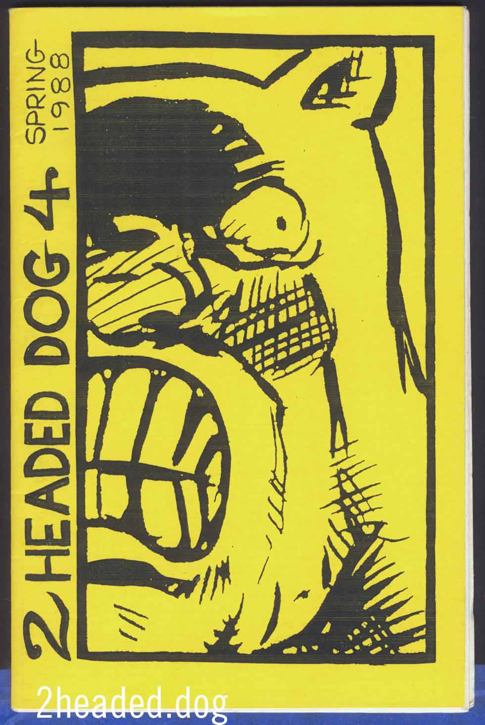 Two Headed Dog issue 4 - 1988