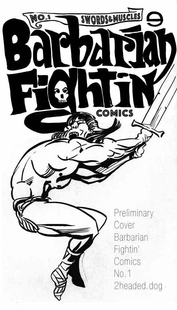 Barbarian FIghtin COmics 1