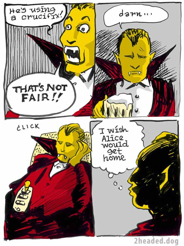 At Home with Dracula