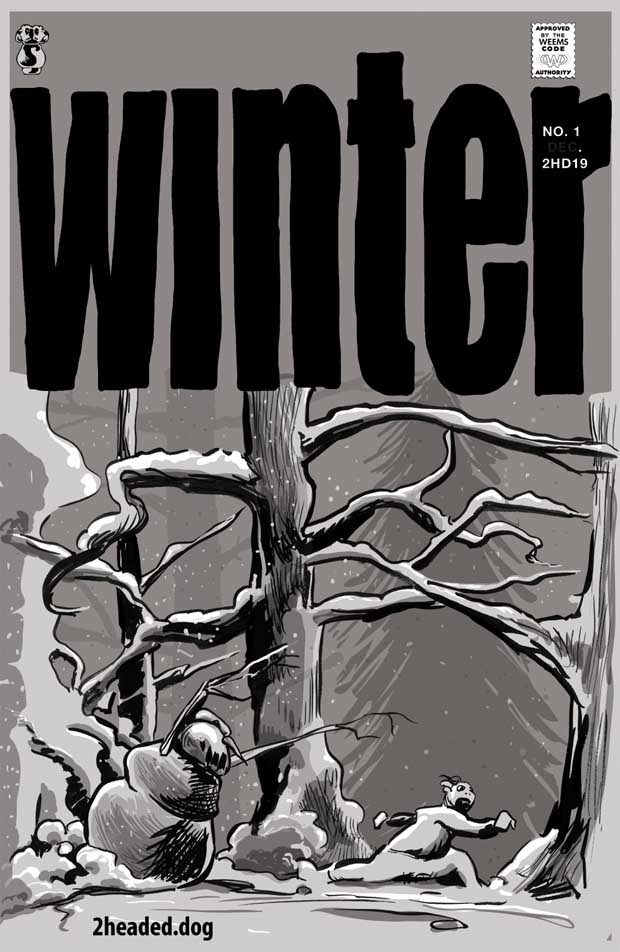 Winyer Issue 1 Cover art